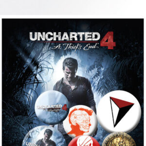 Posters Placka Uncharted 4: A Thiefs End - mix - Posters