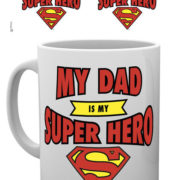 Posters Hrnek DC Comics - Superman Dad Superhero - Posters