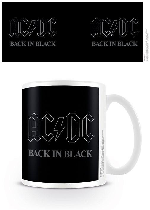 Posters Hrnek AC/DC - Back In Black - Posters