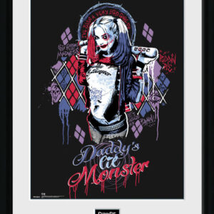 Posters Sebevražedný oddíl - Harley Quinn Monster rám s plexisklem - Posters