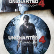 Posters Samolepka Uncharted 4 - A Thiefs End - Posters