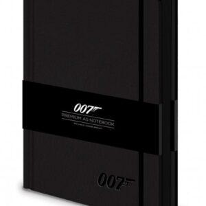 Posters James bond - 007 Logo  Premium A5 Notebook Psací potřeby - Posters
