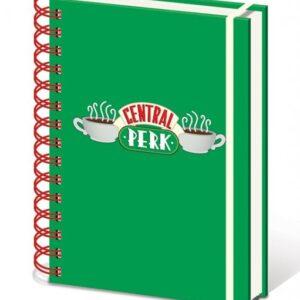 Posters Přátelé  - Central Perk A5 notebook Psací potřeby - Posters