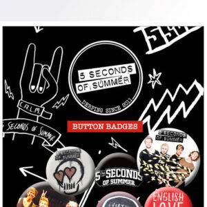 Posters Placka 5 SECONDS OF SUMMER - Mix 1 - Posters