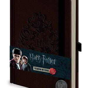 Posters Harry Potter - Hogwart's Crest Premium A5 Notebook Psací potřeby - Posters