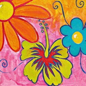 Posters Fototapeta Spring Flowers