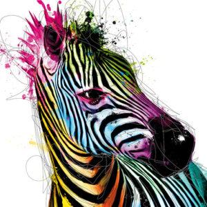 Posters Fototapeta Patrice Murciano - Zebra