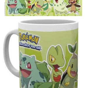 Posters Hrnek Pokémon - Grass Partners - Posters