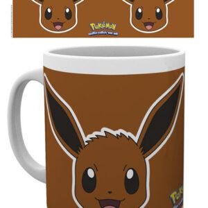 Posters Hrnek Pokemon - Eevee Face - Posters