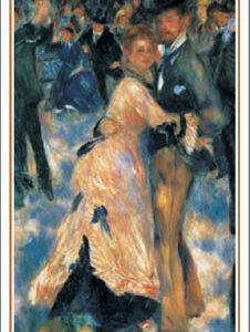 Posters Reprodukce Pierre-Auguste Renoir - Bal du moulin de la Galette - Dance at Le moulin de la Galette