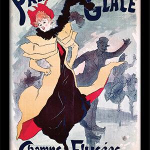 Posters Palais de Glace - Champs Elysées rám s plexisklem - Posters
