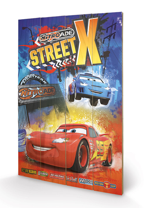 Posters Obraz na dřevě - Auta - Street X