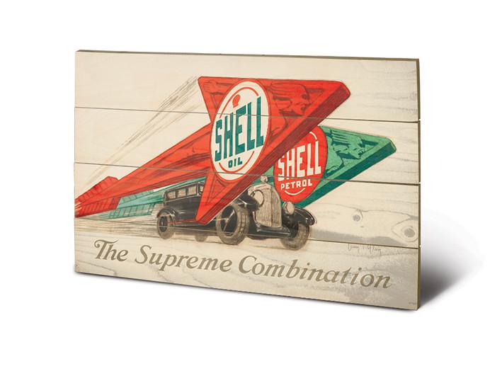 Posters Obraz na dřevě - Shell - The Supreme Combination