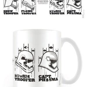 Posters Hrnek Star Wars VII - Helmets - Posters