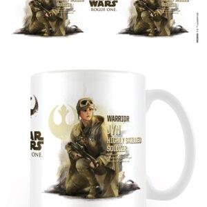 Posters Hrnek Rogue One: Star Wars Story - Jyn Profile - Posters