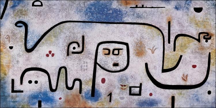 Posters Reprodukce Klee - Insula Dulcanara