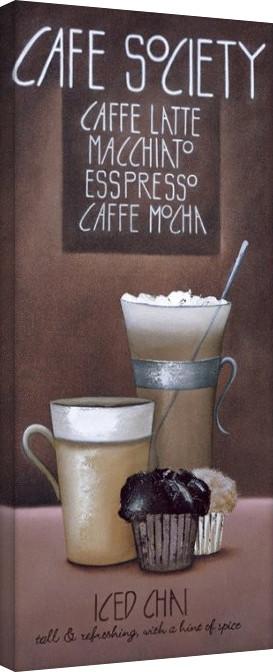 Posters Obraz na plátně Mandy Pritty - Café Society