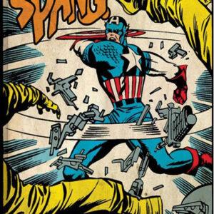 Posters Obraz na plátně Captain America - Spang