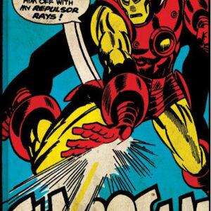 Posters Obraz na plátně Iron Man - Shoosh