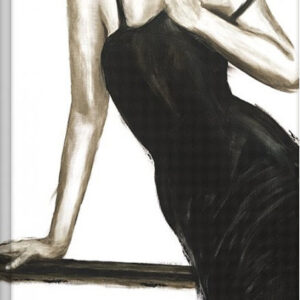 Posters Obraz na plátně Janel Eleftherakis - Little Black Dress III