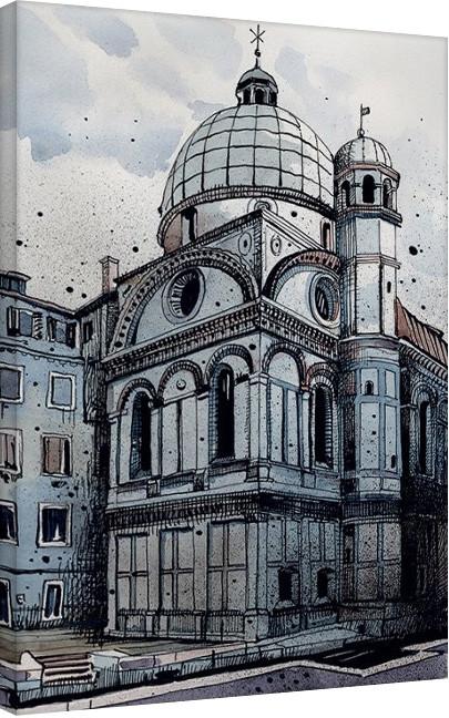 Posters Obraz na plátně Jack the Flipper - Venice I