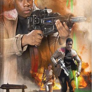 Posters Obraz na plátně Star Wars VII: Síla se probouzí - Finn Art