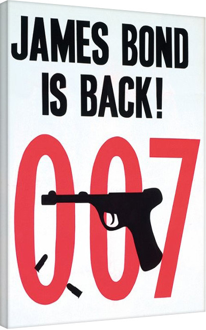 Posters Obraz na plátně James Bond: Goldfinger - Sketch