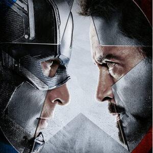 Posters Obraz na plátně Captain America: Občanská válka - Face off