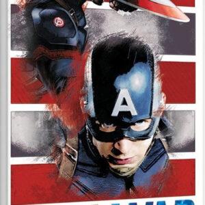 Posters Obraz na plátně Captain America: Občanská válka - Split
