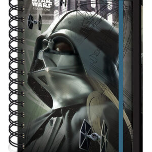 Posters Rogue One: Star Wars Story - Darth Vader A5 Notebook Psací potřeby - Posters
