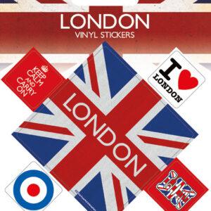 Posters Samolepka Londýn - Posters