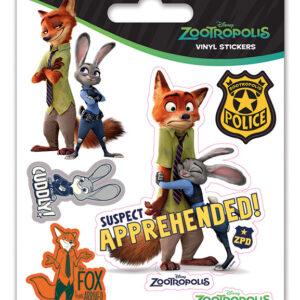 Posters Samolepka Zootropolis: Město zvířat - Suspect Apprehended - Posters