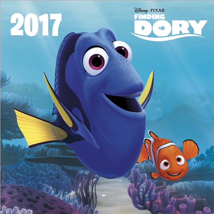 Posters Kalendář 2017 Hledá se Dory - Posters
