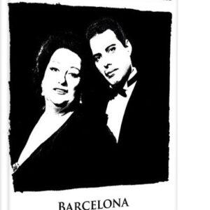 Posters Obraz na plátně Queen - Freddie Mercury & Montserrat Caballe