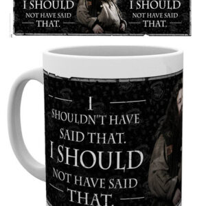 Posters Hrnek Harry Potter - Hagrid Quote - Posters