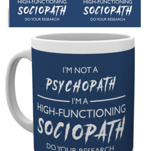 Posters Hrnek Sherlock - I'm Not a Psychopath - Posters