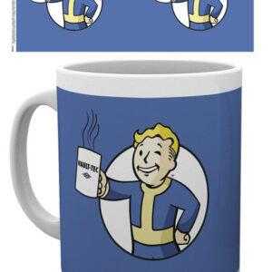 Posters Hrnek Fallout - Vault Boy Holding Mug - Posters