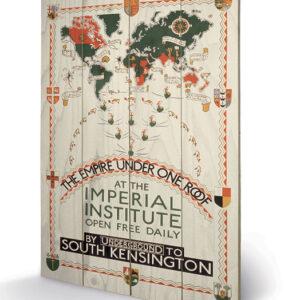 Posters Obraz na dřevě - Transport For London - The Empire Under One Roof