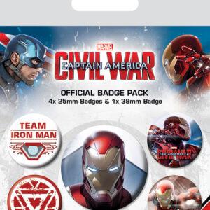 Posters Placka Captain America: Občanská válka - Iron Man - Posters