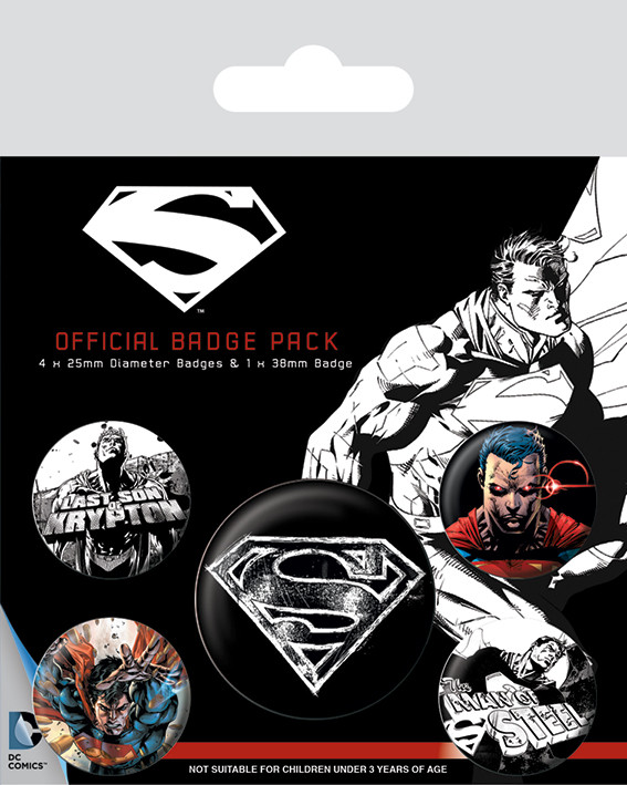 Posters Placka Superman - Dark - Posters