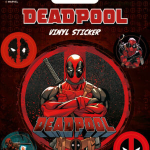 Posters Samolepka Deadpool - Posters