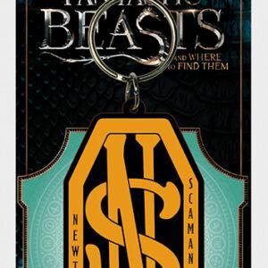 Posters Klíčenka Fantastická zvířata a kde je najít - Newt Scamander Logo - Posters