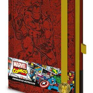 Posters Marvel - Iron Man A5 Premium Notebook Psací potřeby - Posters