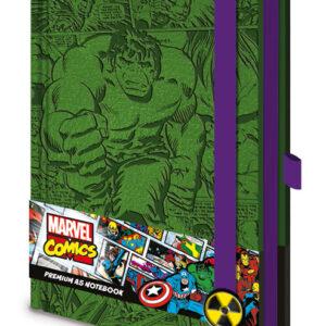 Posters Marvel - Incredible Hulk A5 Premium Notebook Psací potřeby - Posters