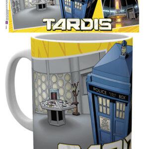 Posters Hrnek Doctor Who - Tardis Scene - Posters