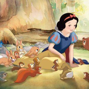 Posters Fototapeta Disney Princesses Snow White 254x184 cm - 115g/m2 Paper - Posters