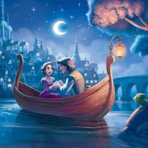 Posters Fototapeta Disney Princesses Rapunzel 254x184 cm - 115g/m2 Paper - Posters