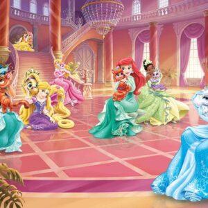 Posters Fototapeta Disney Princesses Cinderella Jasmine 368x254 cm - 115g/m2 Paper - Posters
