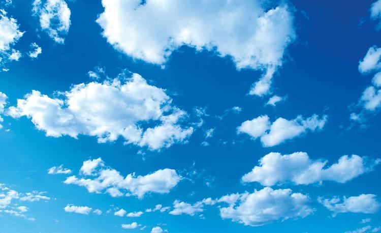 Posters Fototapeta Clouds Sky Nature 254x184 cm - 115g/m2 Paper - Posters
