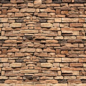 Posters Fototapeta Stone Wall 254x184 cm - 115g/m2 Paper - Posters